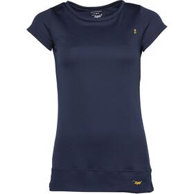 Triple2 TUUR - T-shirt manches courtes Femme - bleu